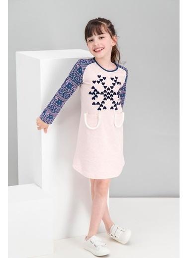 Roly Poly Rolypoly We Love Snow Pembemelanj Kız Çocuk Cepli Elbise Pembe
